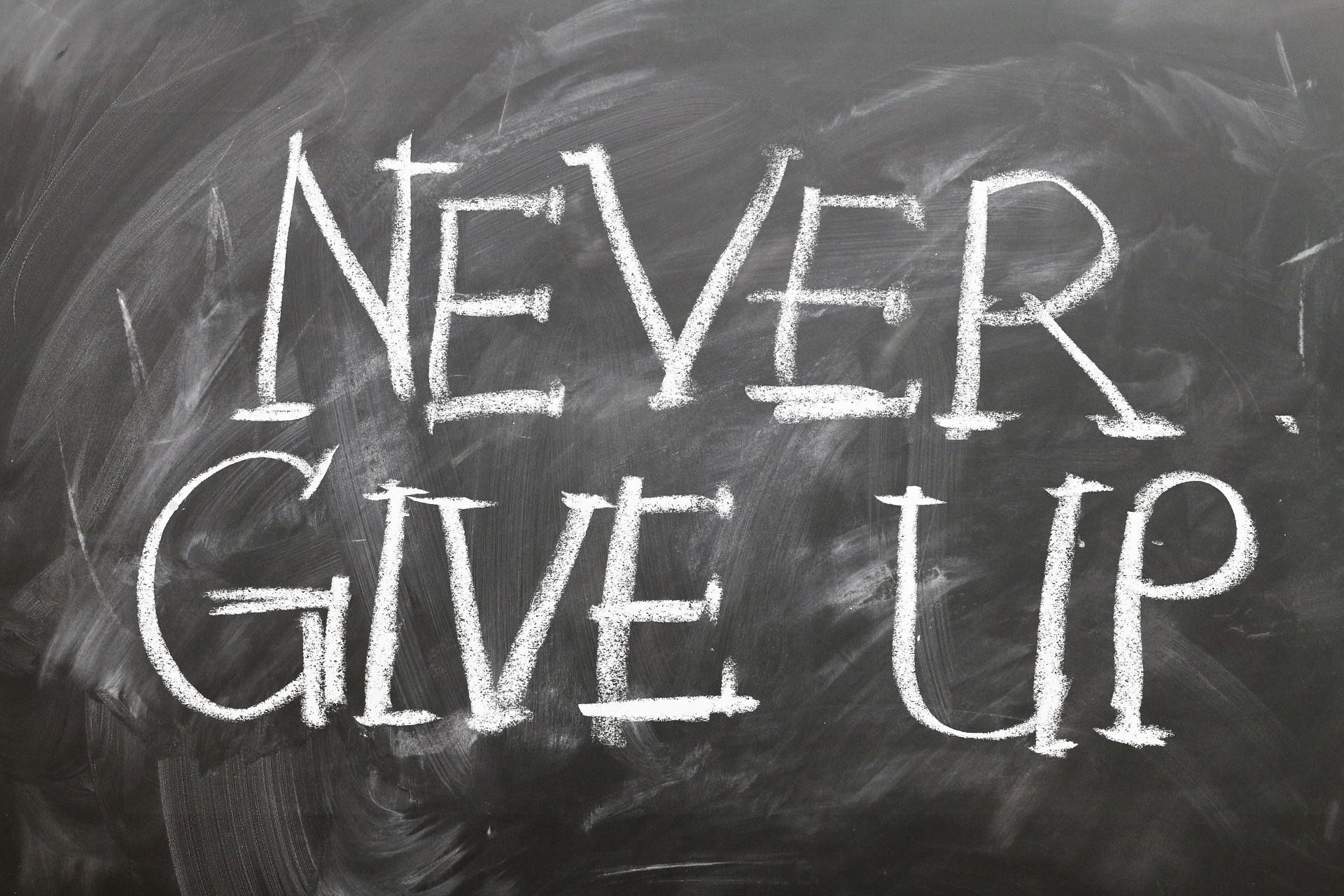 Persevera ... o no